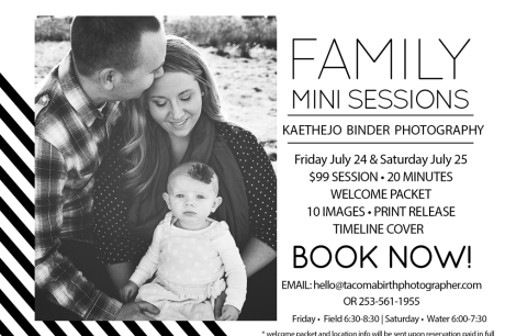 Family photographer, Tacoma Washington